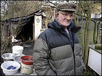 Harry Hallowes jpg from BBC Newswebsite