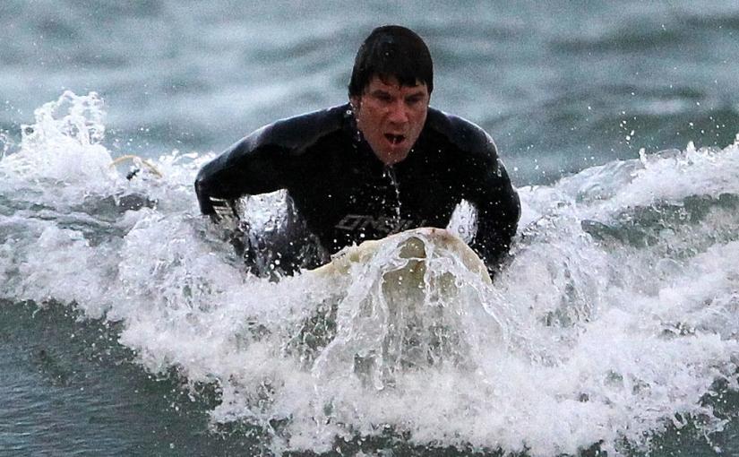 Surfers, Killiney Bay, CoDublin.