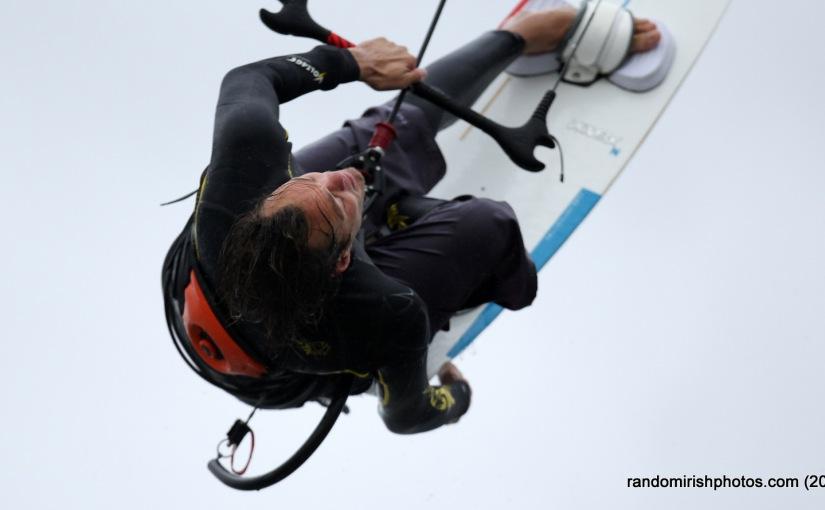 Kitesurfing Dollymount Strand