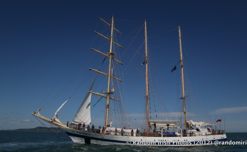 Dublin Tall Ships Festival 2012 – the Pogoria.