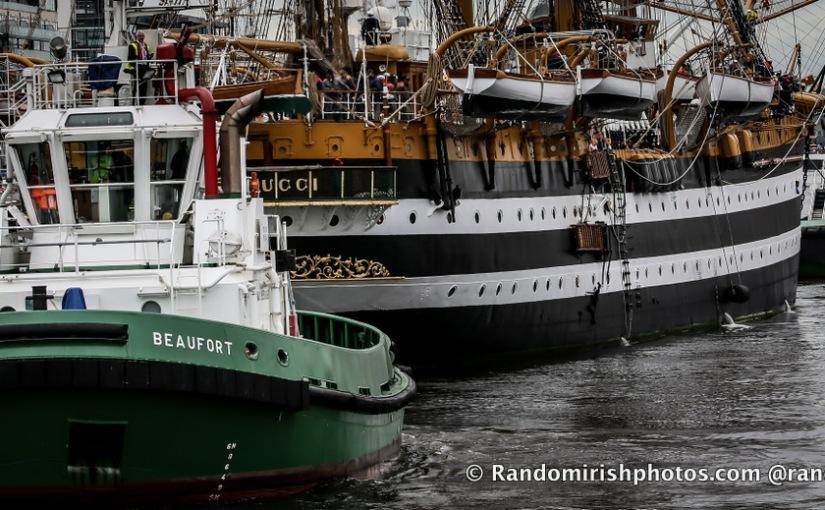Dublin Tall Ships 2012 – AmerigoVespucci.