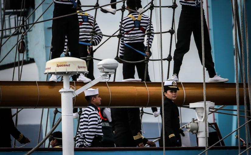Tall Ships Dublin 2012 –Cuauhtemoc