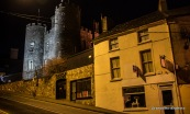 Photo of night time in Enniscorthy and Castle House