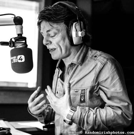 Photograph of radio DJ Niall Boylan