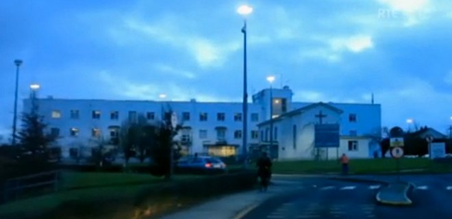 Picture of Portlaoise Hospital.